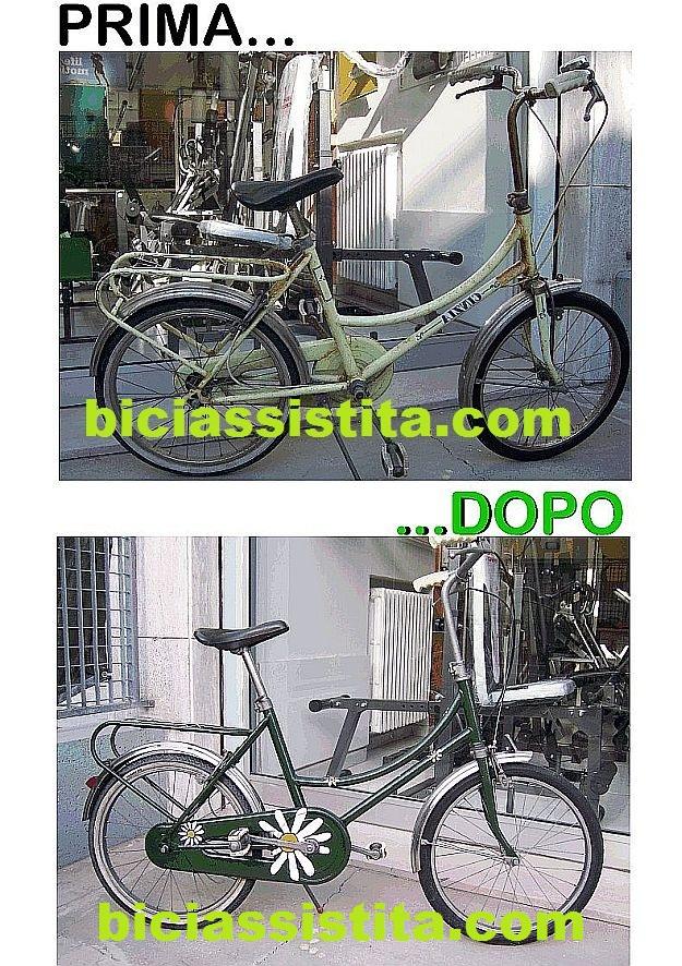 Restauro Bici Tipo Graziella