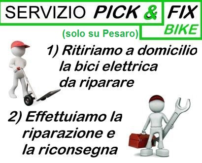 servizio pick and fix bike
